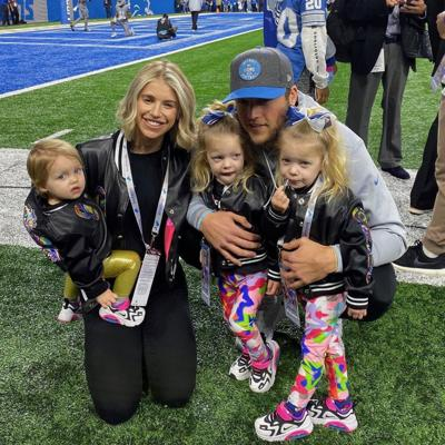 Kelly Stafford and family