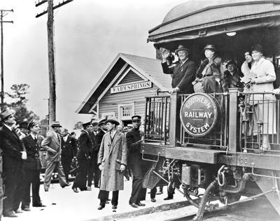 PHOTOS: Southeastern Railway Museum accepts former presidential train car