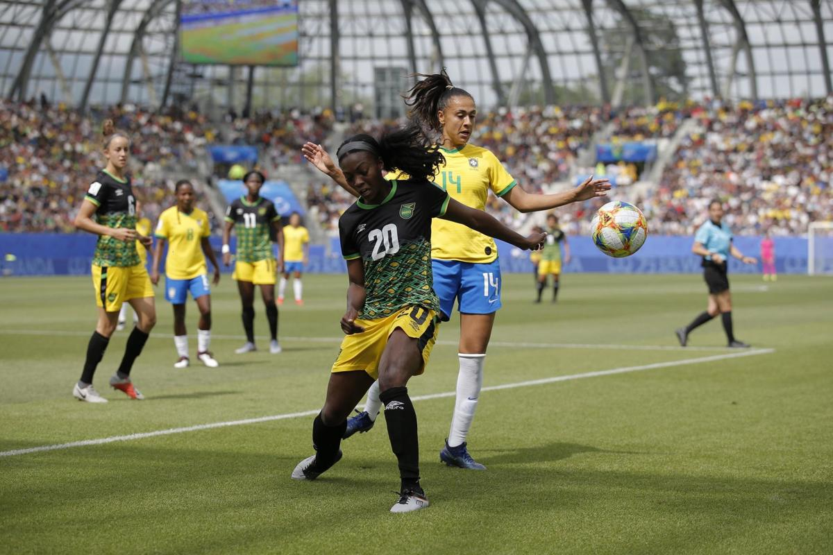 Soccer: Womens World Cup-Jamaica at Brazil