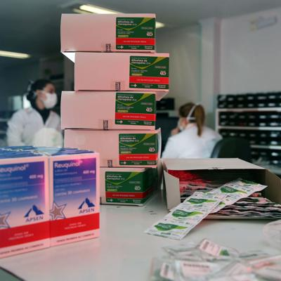 The US sent Brazil millions of hydroxychloroquine doses. Months later, they're still in storage