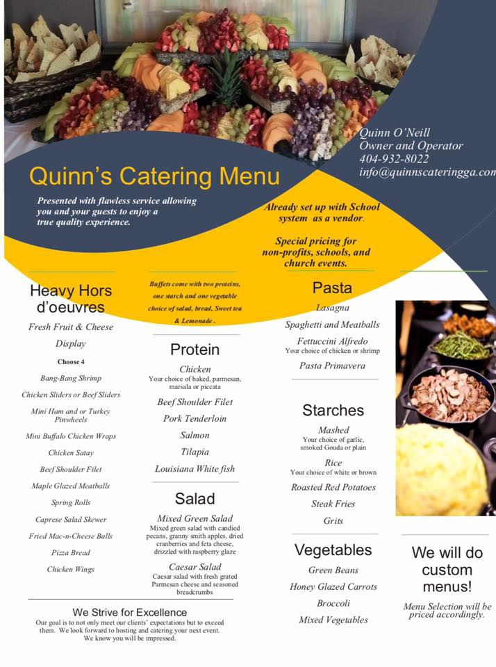 Quinn's Catering