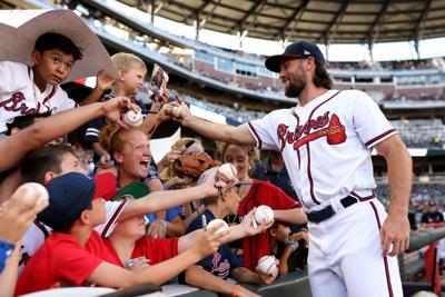 MLB: Kansas City Royals at Atlanta Braves