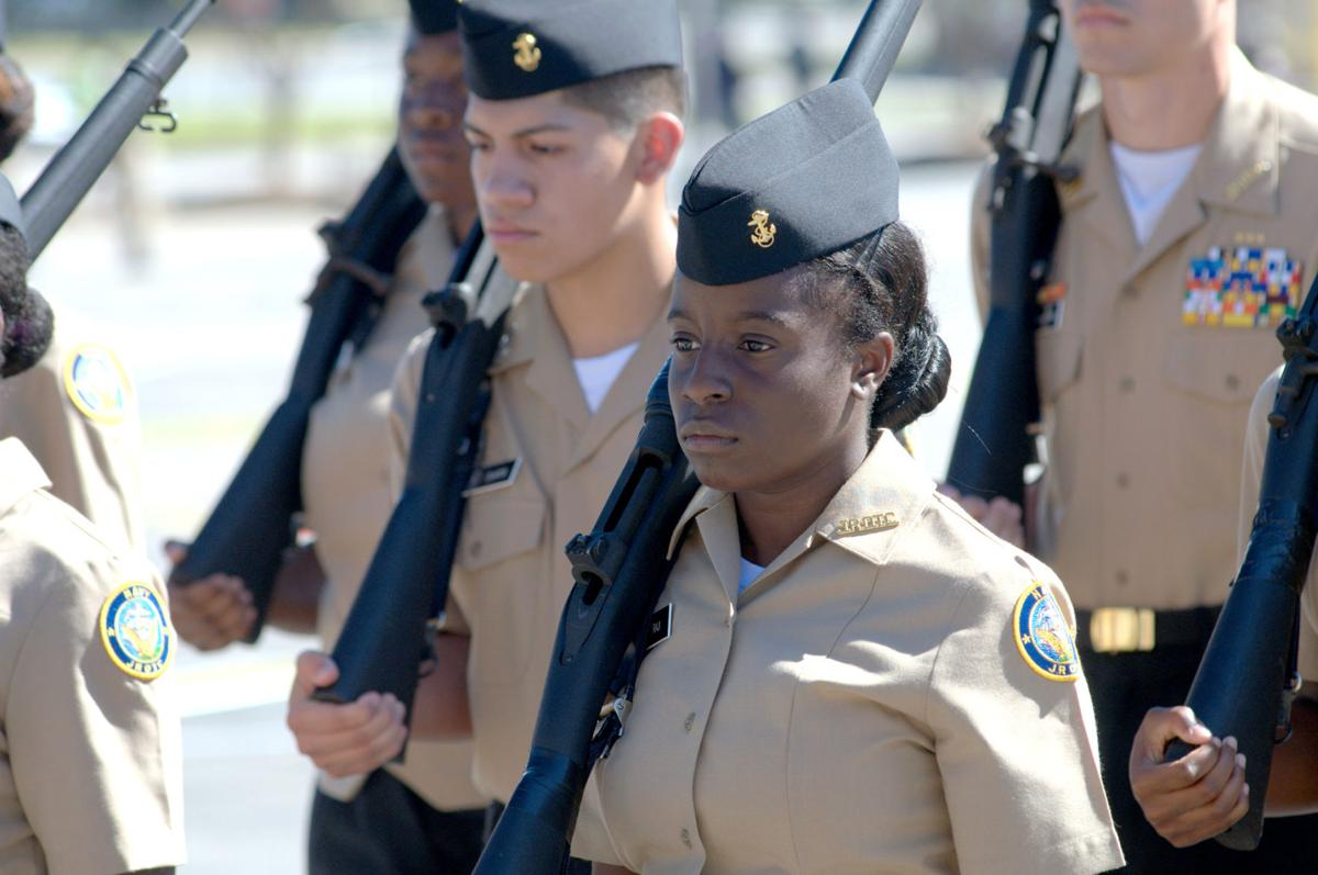Henry Njrotc Teams Compete In Annual Drill Meet Features Henryherald Com