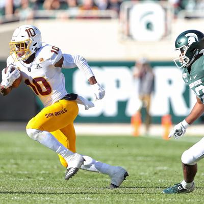 NCAA Football: Arizona State at Michigan State