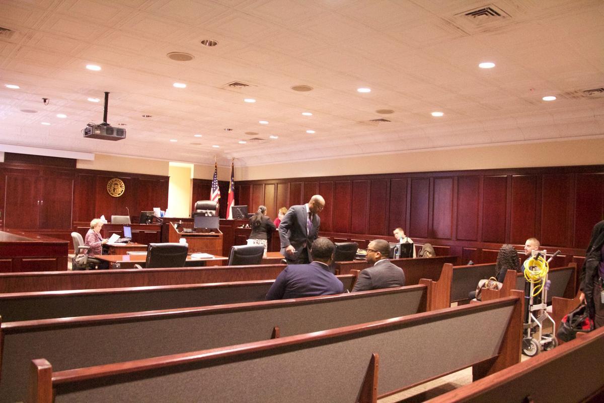 Ex-cop pleads not guilty in Marrow battery case