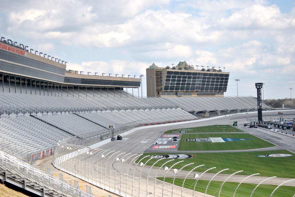 NASCAR: Weather forces schedule change at Atlanta Motor Speedway ...