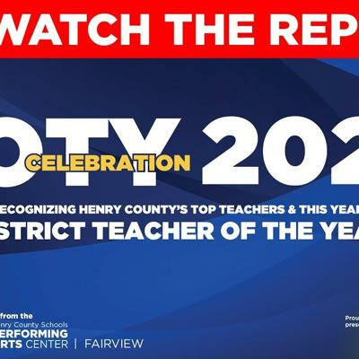2020 Henry County Schools Teacher of the Year celebration