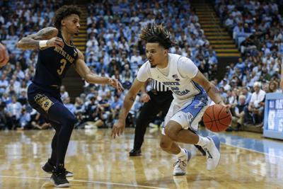 NCAA Basketball: Notre Dame at North Carolina
