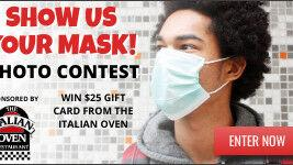 Show your mask for a chance to win