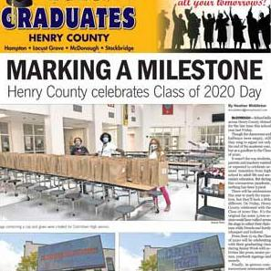 2020 graduates of Henry County