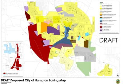 Atlanta Ga Zoning Map Hampton zoning approval angers residents | News | henryherald.com
