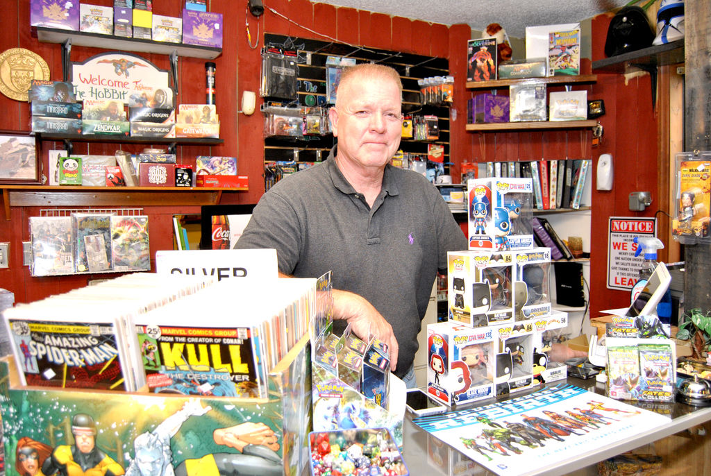 Comic book store fosters family, love of reading