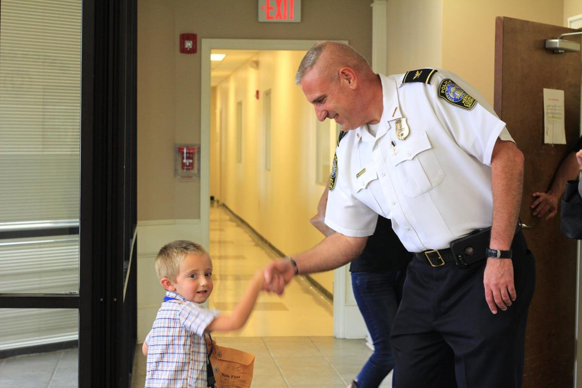 Beau Sexton, 4, rises to HCPD Chief Amerman's challenge