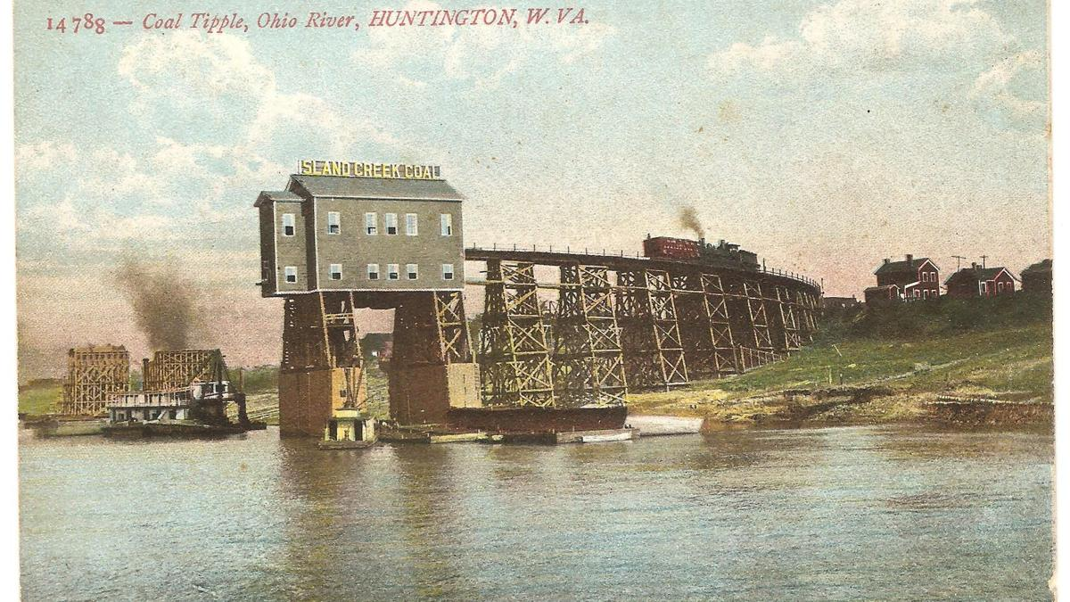 Lost Huntington: Island Creek Coal Tipple