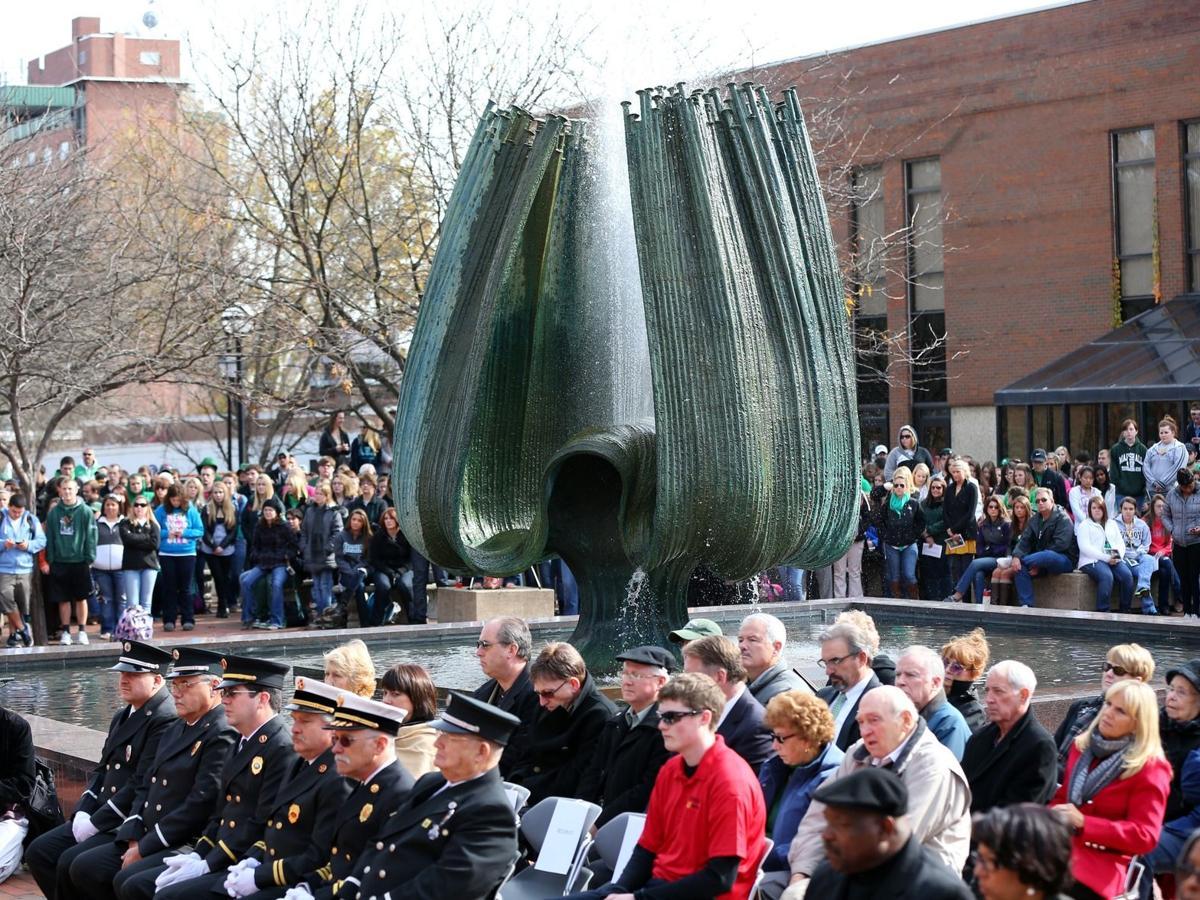 Gallery: Marshall Memorial Service 2012