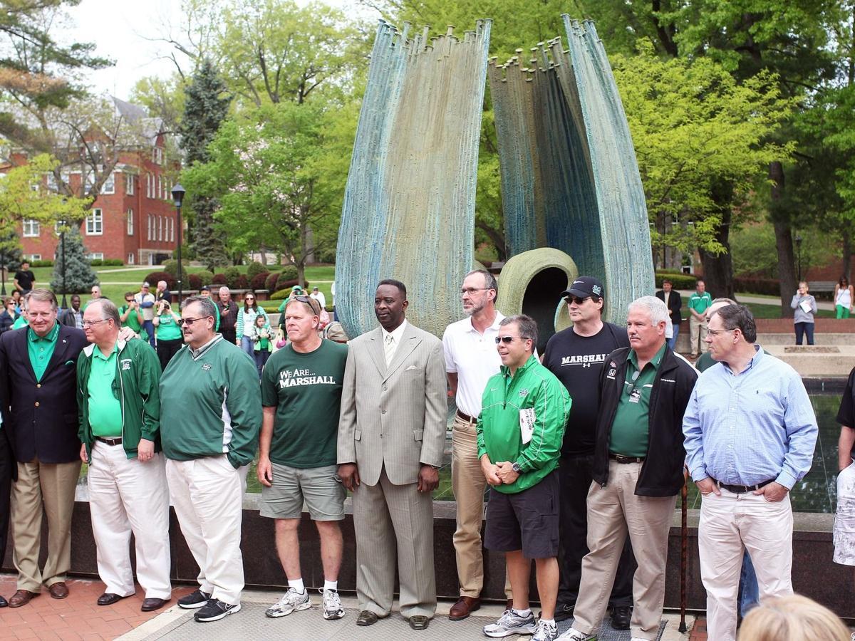Gallery: Spring 2013 Memorial Fountain Service