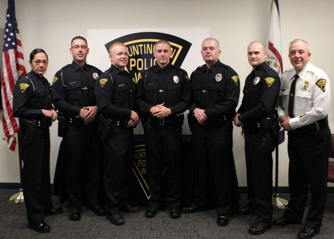 Photos: Huntington Police Department Pinning Ceremony ...
