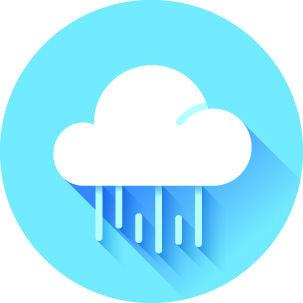 Rain showers to linger Tuesday morning
