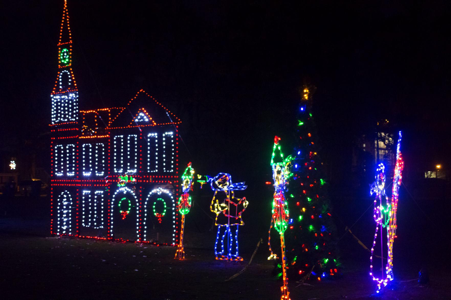 Winter Wonderland of Lights kicks off tonight at Ashland's Central ...