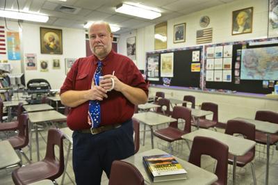 Teacher John Quesenberry