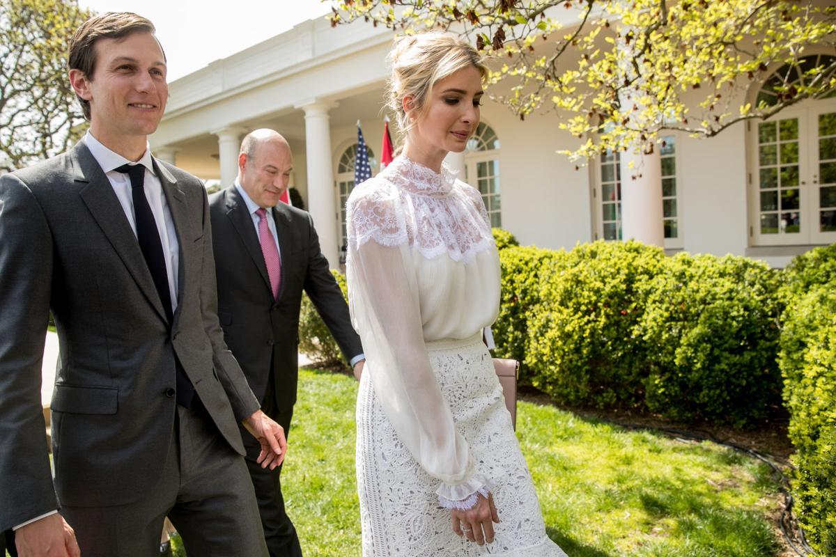 Jared Kushner, Ivanka Trump, Gary Cohn