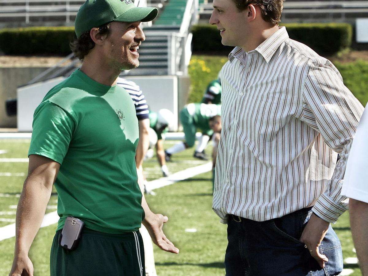Gallery: McConaughey attends spring football practice, April 18, 2006