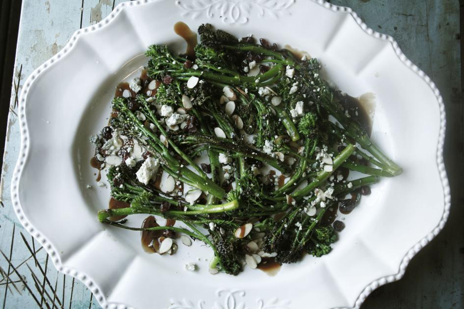Janet McCormick: Charred Broccolini is a bright, fresh and ...