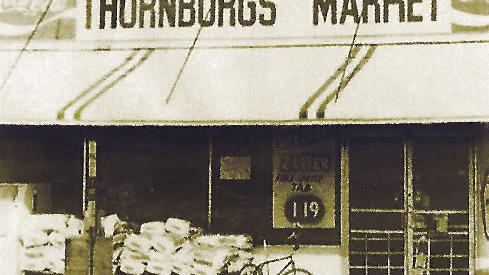 Lost Huntington: Thornburg's Market