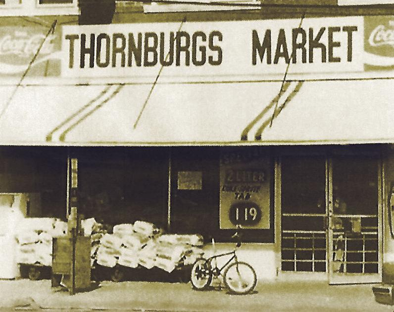 Lost Huntington: Thornburg's Market