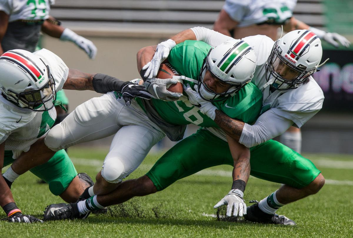 9bd1901b7b90 Photos: Marshall 2019 Green and White Game | Multimedia | herald ...