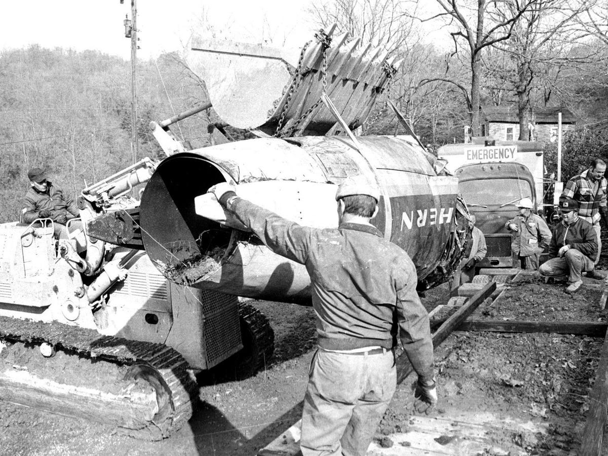 Gallery: Wreckage of 1970 Marshall plane crash
