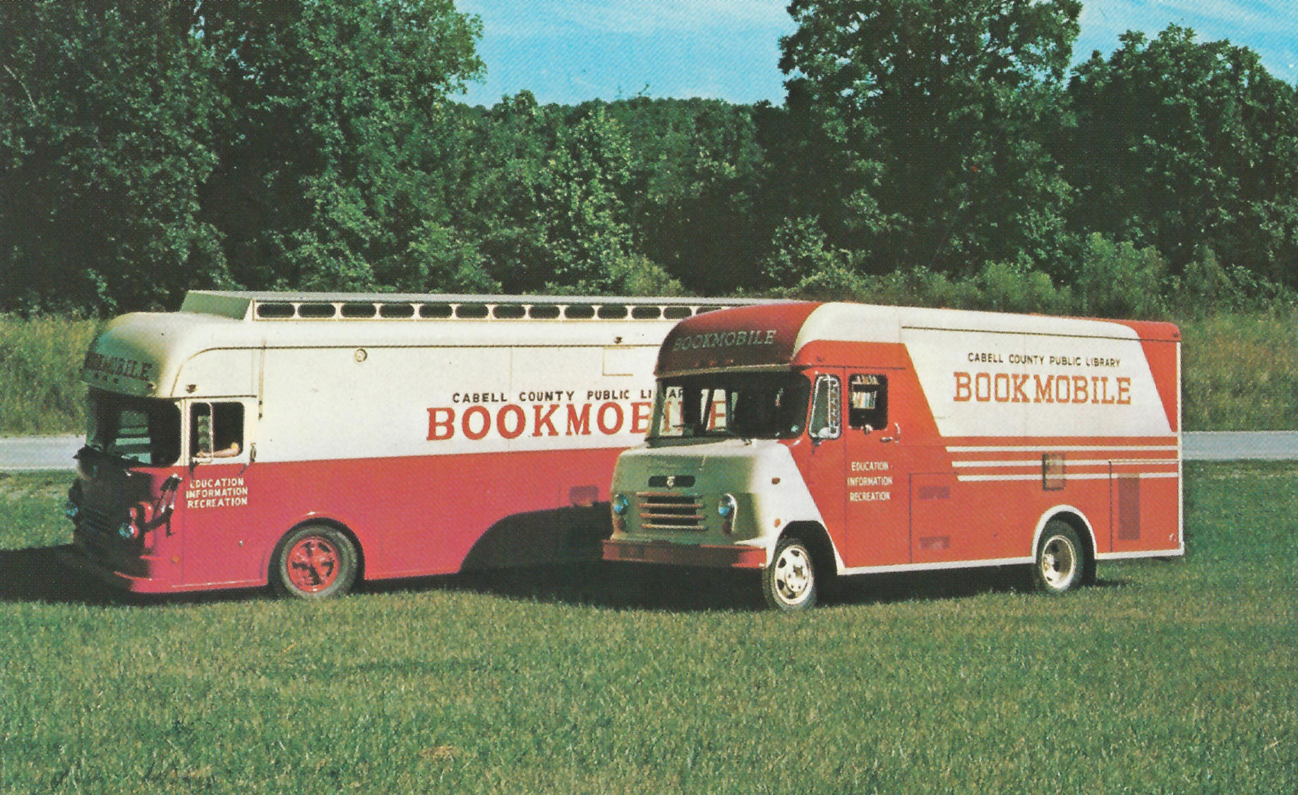 Lost Huntington: Cabell Library bookmobiles