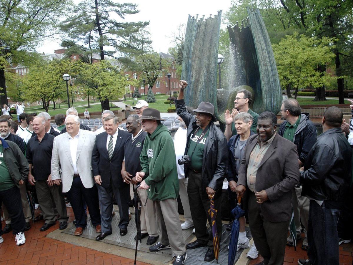 Gallery: Spring 2011 Memorial Fountain Service