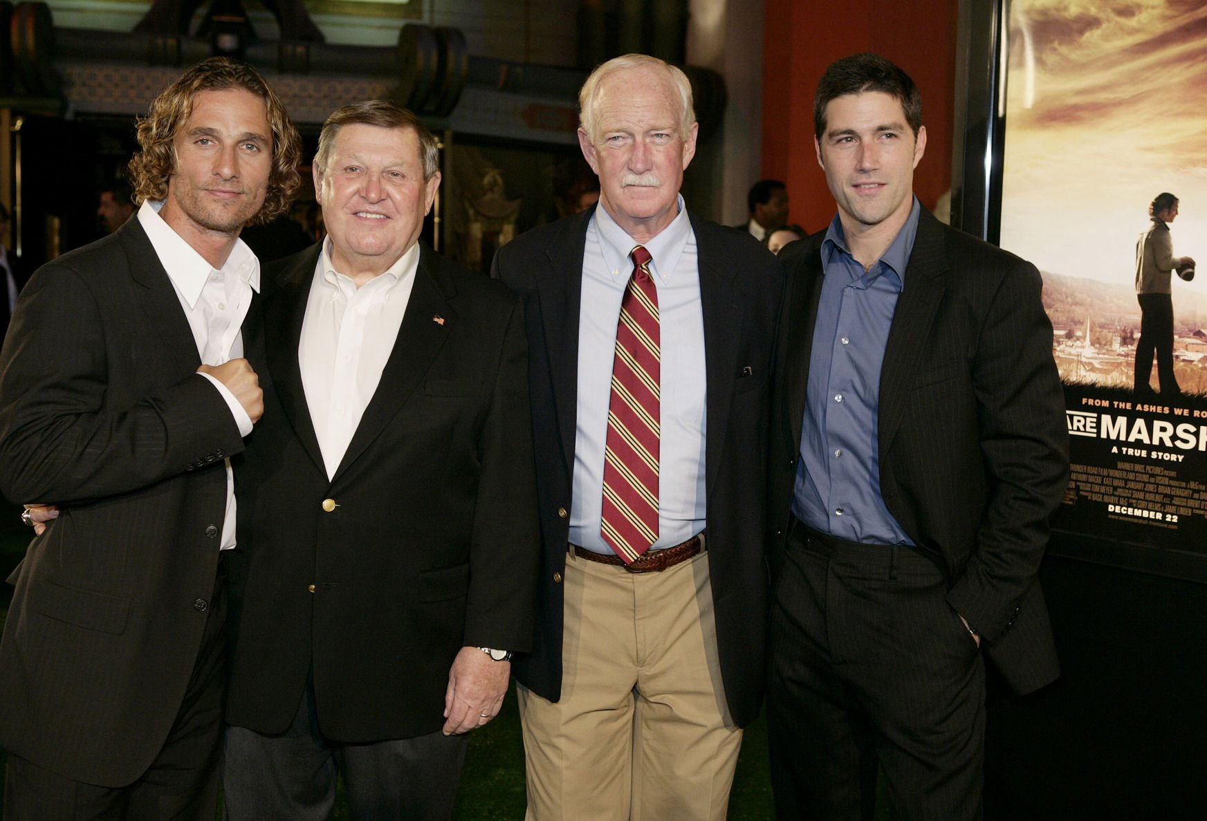 """Gallery: """"We Are Marshall"""" Hollywood premiere, Dec. 14, 2006"""