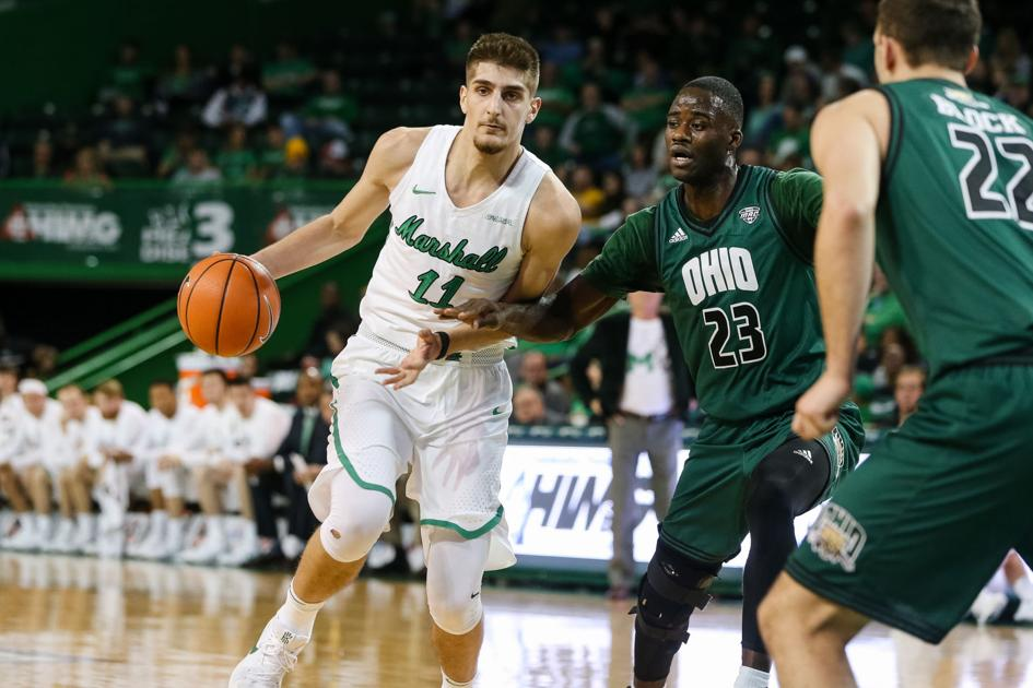 Herd men defeat Ohio 99-96 in overtime