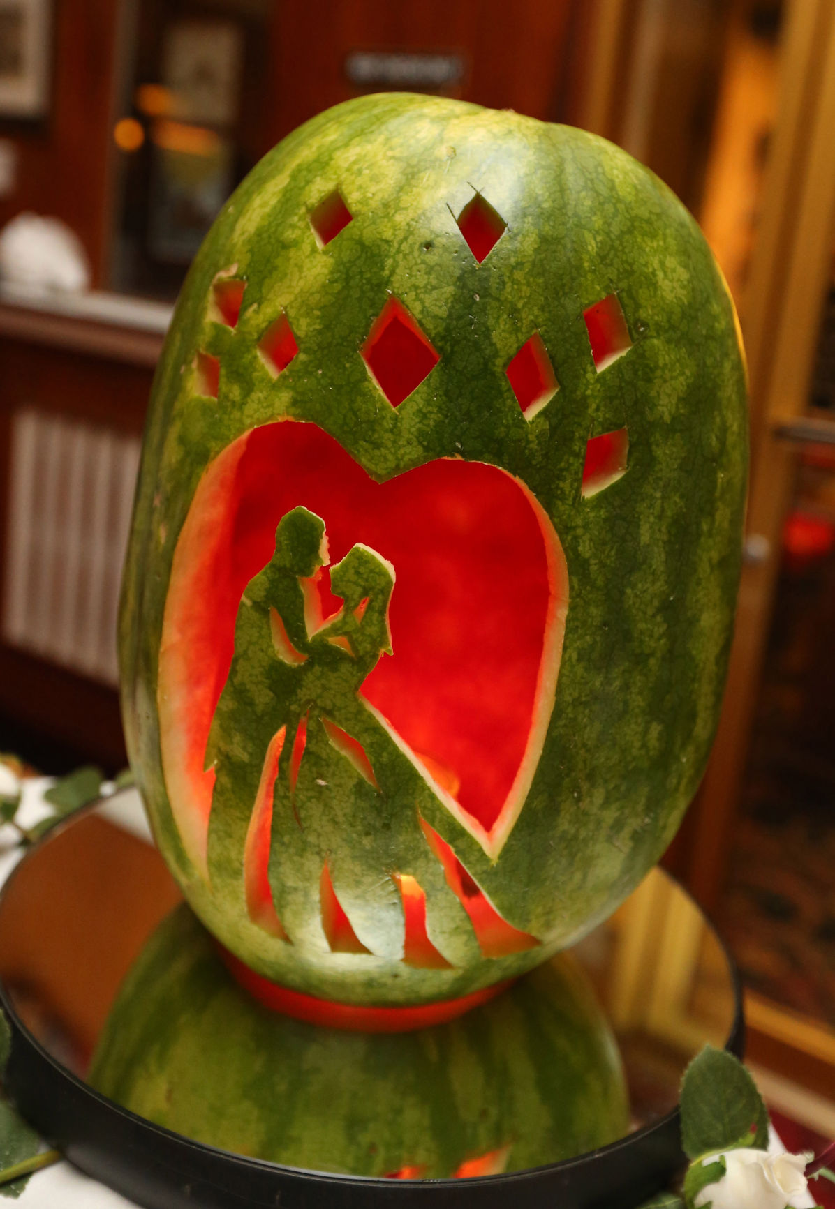 Ashland woman s watermelon carvings impress features