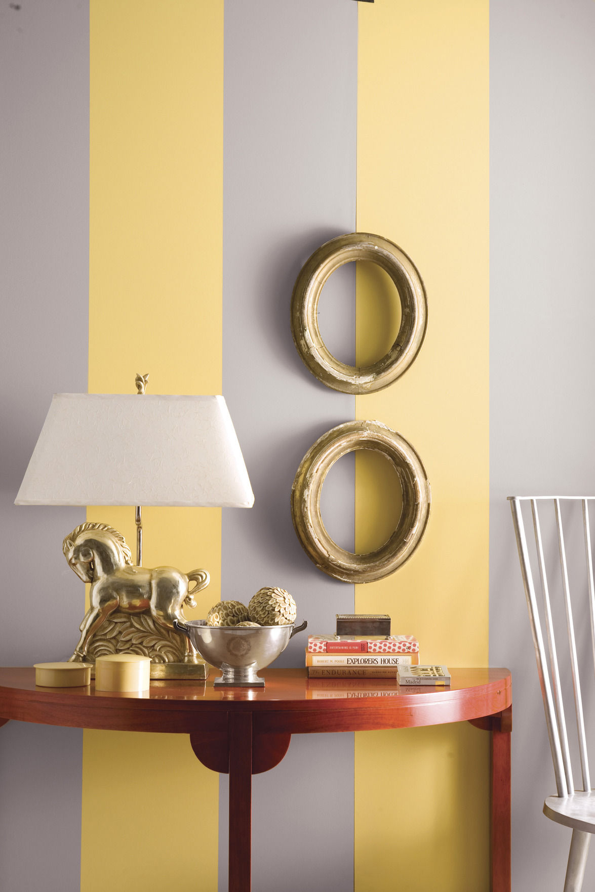 Karen Hysell: Vertical stripes can make ceiling appear higher ...