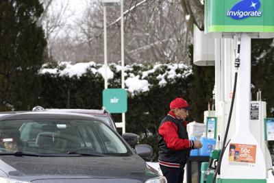 Virus Outbreak Illinois Gas Price