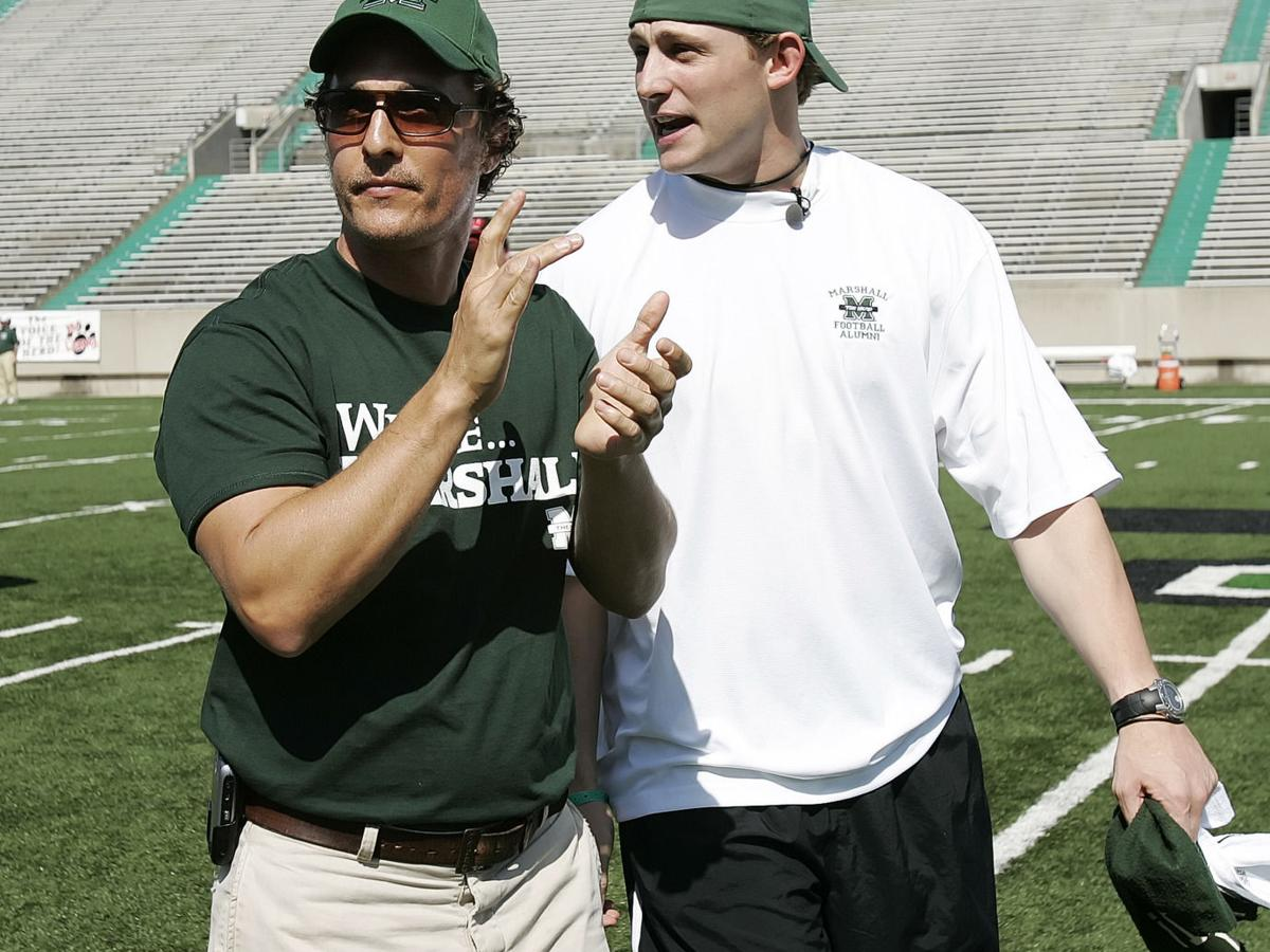Gallery: Filming at the Green and White Game, April 22, 2006