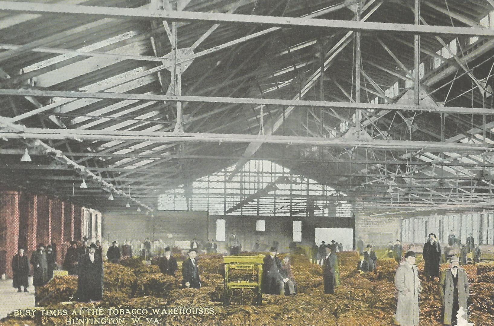 Lost Huntington: The tobacco warehouse