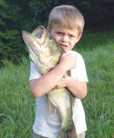 9-year-old from Winfield heads for a national bass tournament