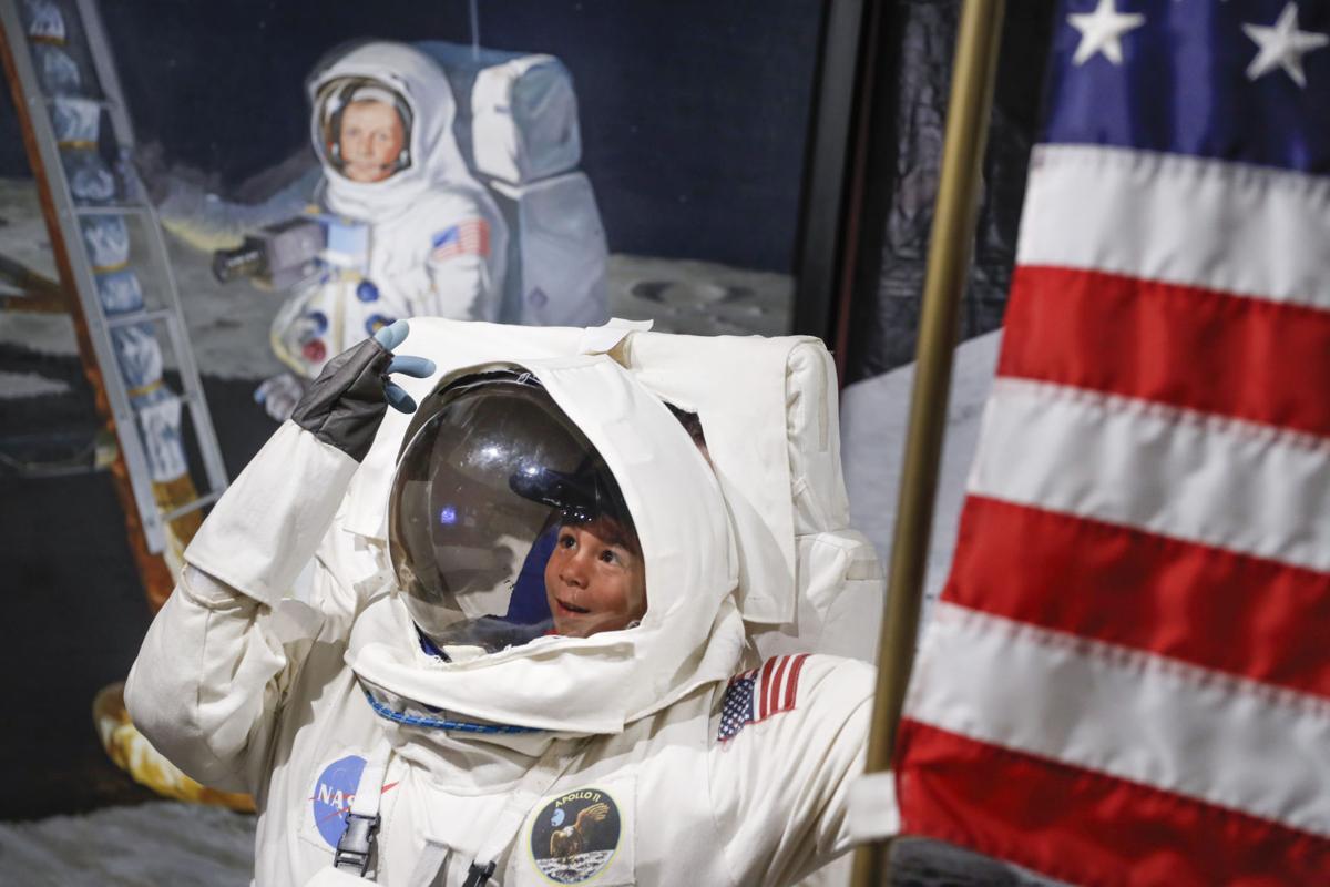 APTOPIX Moon Landing 50 Years