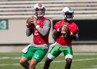Thomson S Injury Throws Herd S Qb Race Off Course Marshall Sports
