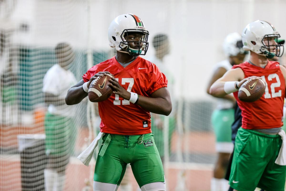 Herd Qb Isaiah Green Uses Football To Escape Adversity Marshall