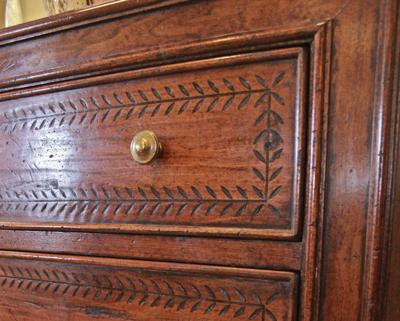Jean Mcclelland Antique Walnut Furniture Has Survived The Test Of Time