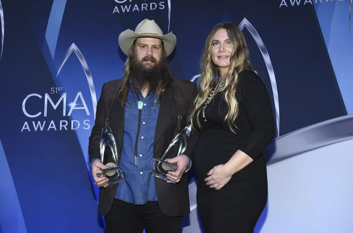 51st Annual CMA Awards - Press Room