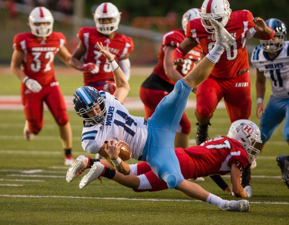 Photos: Spring Valley vs. Hurricane, football