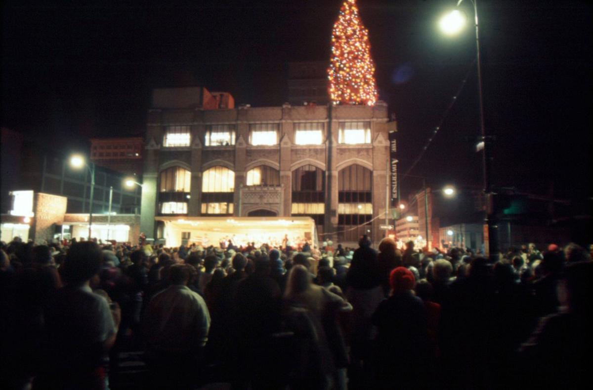 The Rooftop Christmas Tree.Lost Huntington Rooftop Christmas Tree Lost Huntington