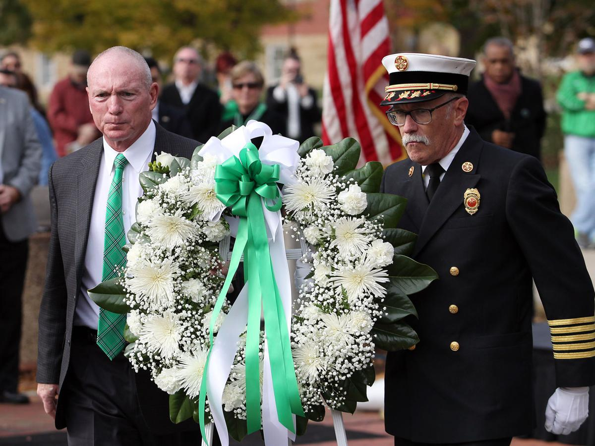 Photos: The 46th Annual Memorial Fountain Ceremony