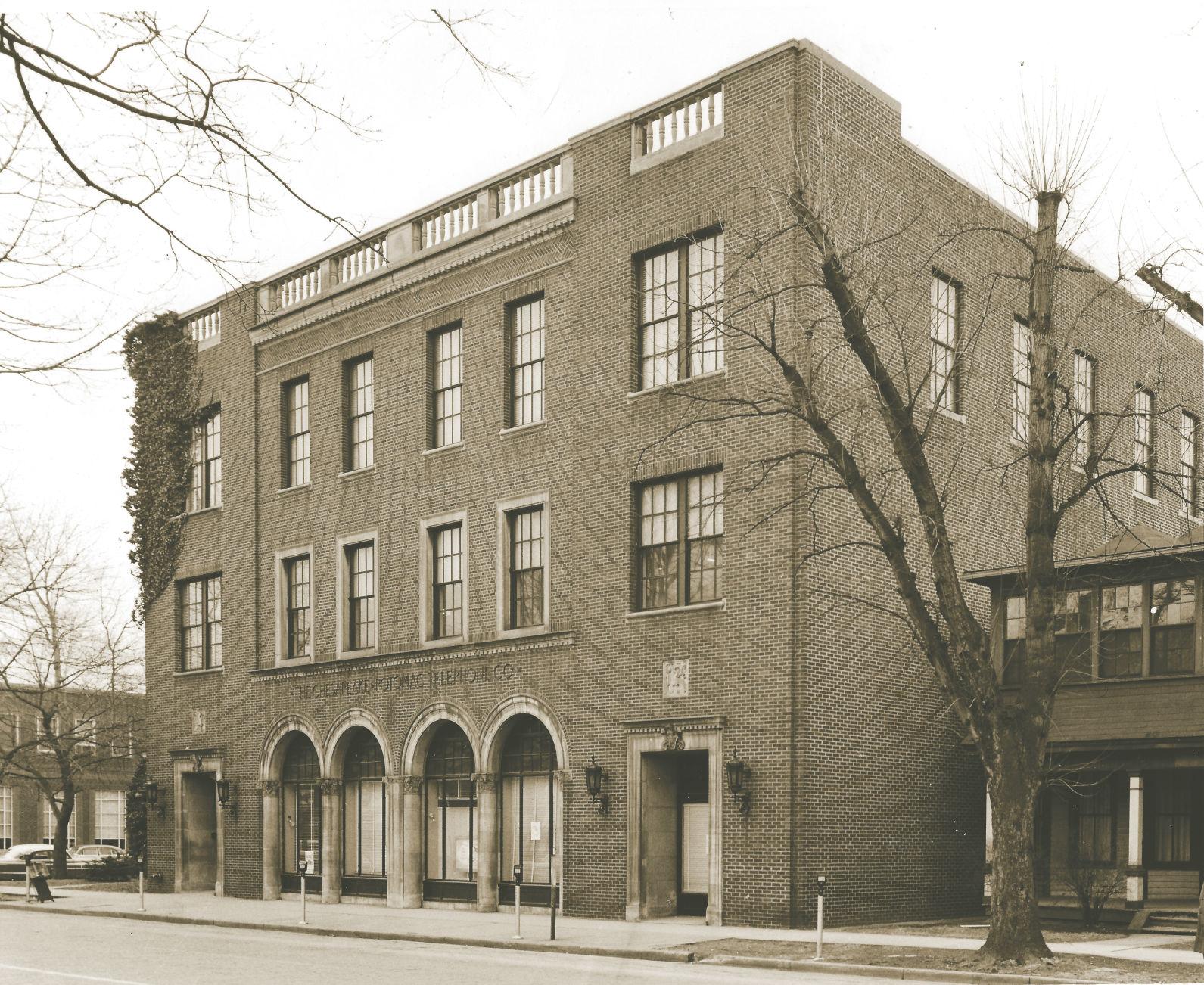 Lost Huntington: C&P Telephone